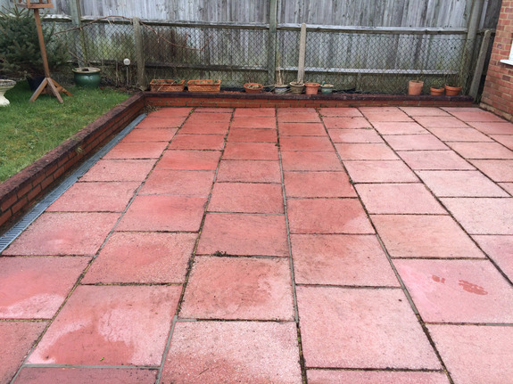 Patio cleaning farnborough