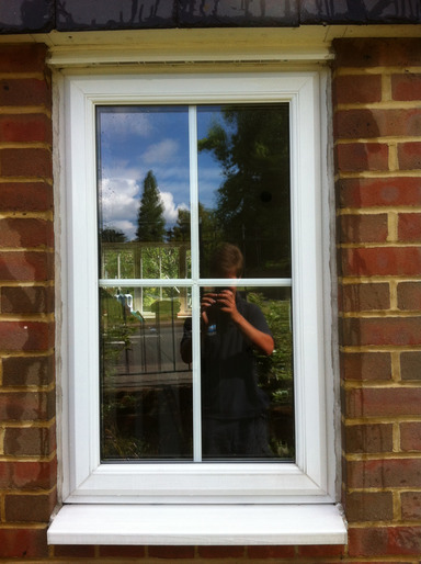 Domestic Window Cleaning from Whitbreads Window Cleaning Services Fleet window cleaner Farnborough