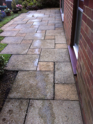 Drivewy & Patio Cleaning from Whitbreads Window Cleaning Services Fleet window cleaner Farnborough