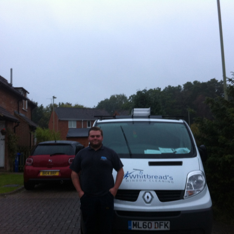 Whitbreads Window Cleaning Fleet window cleaner Farnham Jordan